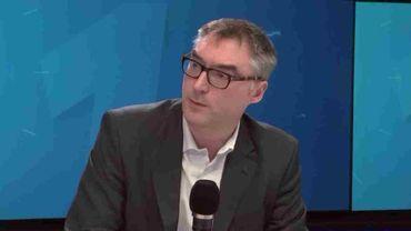 Jean-Ferdinand Puyraimond, chercheur au centre de droit privé de l'ULB