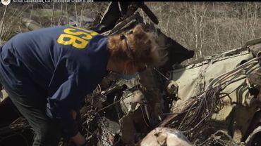 Les experts analysent les débris du crash pour déterminer les circonstances de l'accident qui a coûté la vie à 9 personnes.