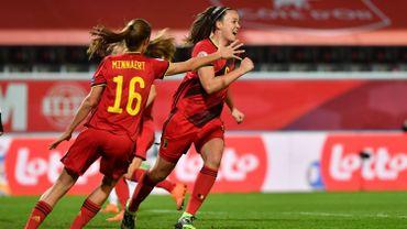 Les Red Flames battent la Suisse et se qualifient pour l'Euro 2022