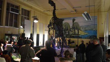 Véritable star de son musée à Bernissart, l'iguanodon a émerveillé les enfants.