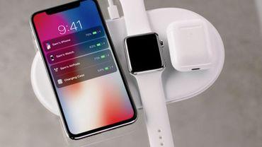 Arrivée probable du chargeur sans fil d'Apple...