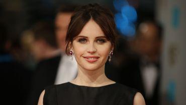 """L'actrice britannique Felicity Jones tiendra le rôle féminin principal de """"Star Wars Anthology: Rogue One"""""""