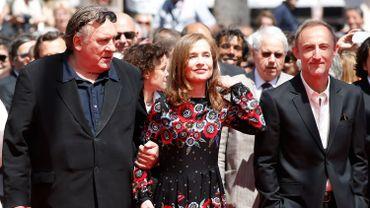 Gérard Depardieu, Isabelle Huppert et le réalisateur Guillaume Nicloux
