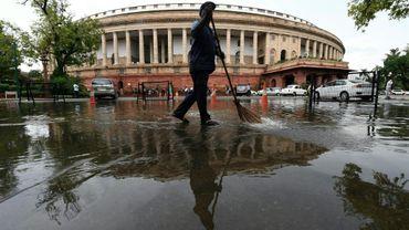 Le siège du Parlement indien à New Delhi le 20 juillet 2018