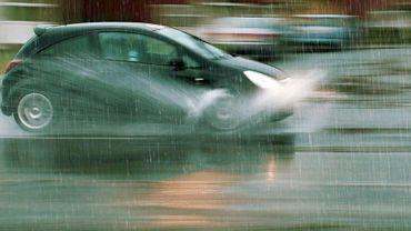 Le risque d'accidents double par temps de pluie