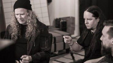 Mustaine et Jordison en studio