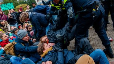 Arrestations à Amsterdam