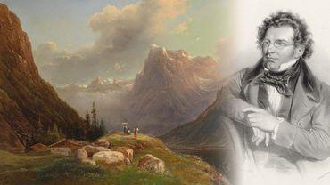 Franz Schubert, un amoureux de la nature, amateur de longues promenades en montagne