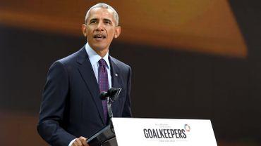 """""""Il est énervant de voir des gens tenter pour la 50e ou 60e fois de revenir sur des acquis, avec une loi qui augmenterait les coûts et réduirait la couverture"""", a déclaré Barack Obama à New York, lors d'une conférence organisée par Bill et Melinda Gates pendant l'Assemblée générale des Nations unies."""