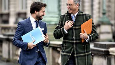 Le duo G-L Bouchez et Joachim Coens consulte tous azimuts