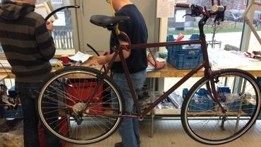 Le premier vélo de Vélofabrik