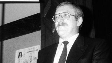 Michel Cocu, ici, en mai 1988, au moment de son acquittement par la Cour d'Assises
