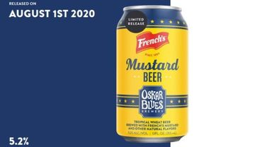 Ils ont osé la bière... à la moutarde.