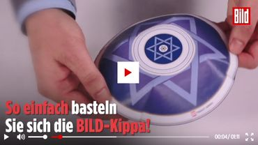 Allemagne: une kippa à découper dans Bild pour combattre l'antisémitsme