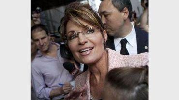Sarah Palin a reçu des menaces de mort d'un Anversois en 2008