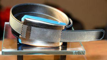 La ceinture connectée  Belty prévient l'utilisateur en cas de prise de poids - Robyn Beck - AFP