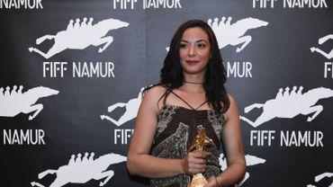 """Loubna Abidar a été récompensée pour sa performance dans """"Much Loved"""" au dernier FIFF de Namur."""