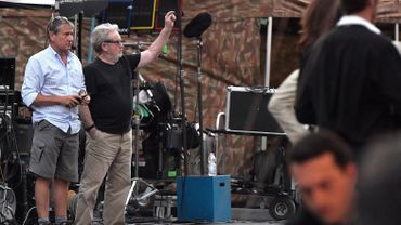 "Ridley Scott tourne actuellement ""All the money in the world"" (""Tout l'argent du monde"")."