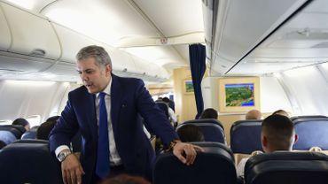 Le président colombien Ivan Duque