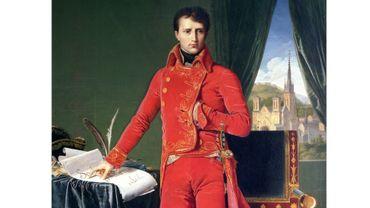 Napoléon à Liège : le portrait de Bonaparte par Ingres, à la Boverie