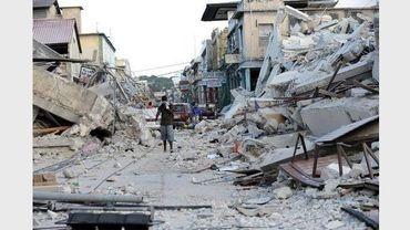 Des images du terrible séisme qui avait touché Haïti en 2010