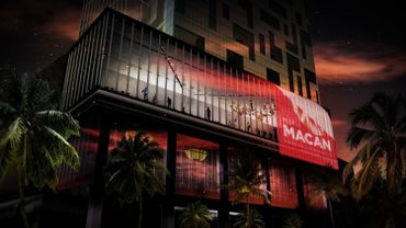 Projet de la façade du musée MACAN