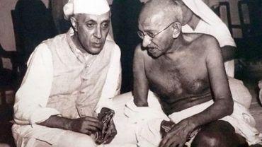 Gandhi, de l'homme à l'icône dans Retour aux sources