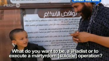Une vidéo interpellante d'un enfant belge endoctriné par l'Etat islamique