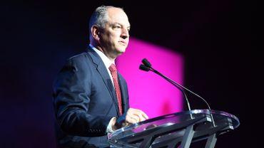 Le gouverneur de la Louisiane John Bel Edwards