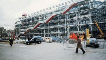 La construction de Beaubourg a été lancée en 1969, un an après les événements