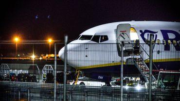 Cinq à sept vols Ryanair sur dix annulés mercredi et jeudi