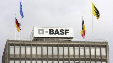 Le siège de BASF à Anvers en 2011.