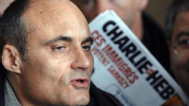 Photo prise le 22 mars 2007 du directeur de la publication de Charlie Hebdo, Philippe Val.