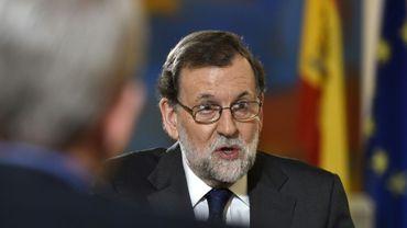 Le chef du gouvernement conservateur espagnol Mariano Rajoy, le 15 février 2017 à Madrid