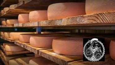 Les meules de 3kg de la fromagerie Le Valèt