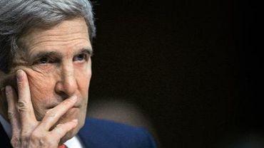 Le secrétaire d'Etat américain John Kerry, le 13 mars 2014 à Washington