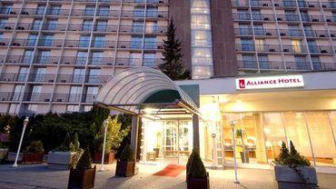 L'hôtel Alliance est situé à côté du Palais des Congrès.