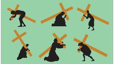 Reçu 5/5 de Patrick Leterme :  les feuilles à portées qui portent la croix