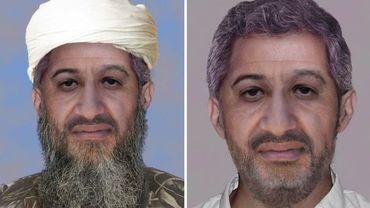 Oussama Ben Laden avec et sans barbe