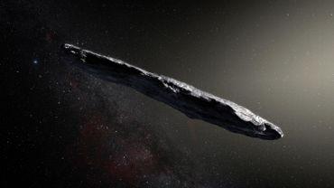 Intrus dans le système solaire: astéroïde ou vaisseau spatial?
