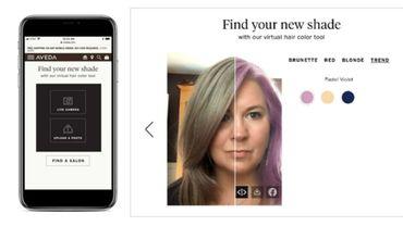 Aveda s'associe à Perfect Corp pour déployer un outil de test virtuel de coloration