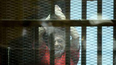 Mohamed Morsi jugé dans un procès pour espionnage, il y a deux ans.