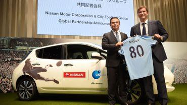 Nissan partenaire officiel de Manchester City