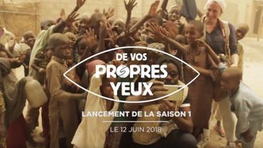 """""""De vos propres yeux"""": une websérie documentaire au cœur des crises humanitaires"""