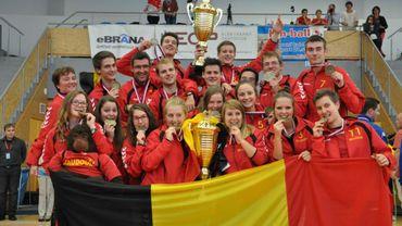 La Belgique impressionne en kin-ball