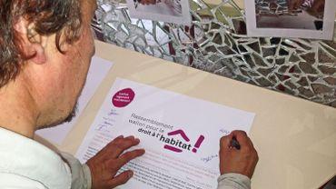 18 associations ont signé la Charte fondatrice du Rassemblement Wallon pour le Droit à l'Habitat