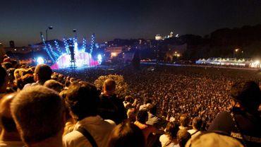 Un concert de Genesis à Rome en 2007