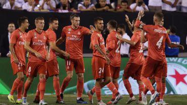 En attendant Courtois, le Real Madrid bat l'AS Rome pour terminer sa préparation