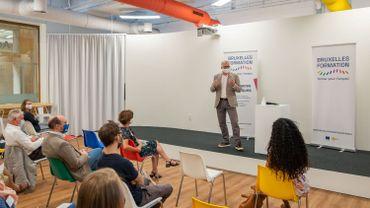 Les nouveaux locaux de Bruxelles Formation au sein de BeCentral ont été inaugurés en présence de Bernard Clerfayt, Ministre de l'emploi et de la formation.
