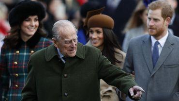 """Grande-Bretagne: le prince Philip, époux de la reine Elizabeth II, impliqué dans une """"énorme collision"""""""